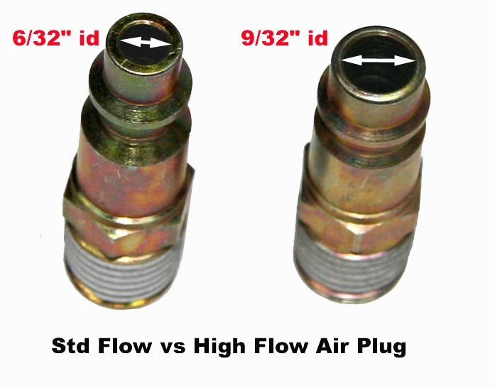 14 Flow S1 Safety Coupler 38npt Female High Flow Profile