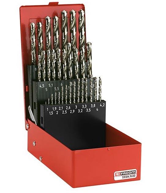 Drill Bit Set Metric 32pc 222a Tj32