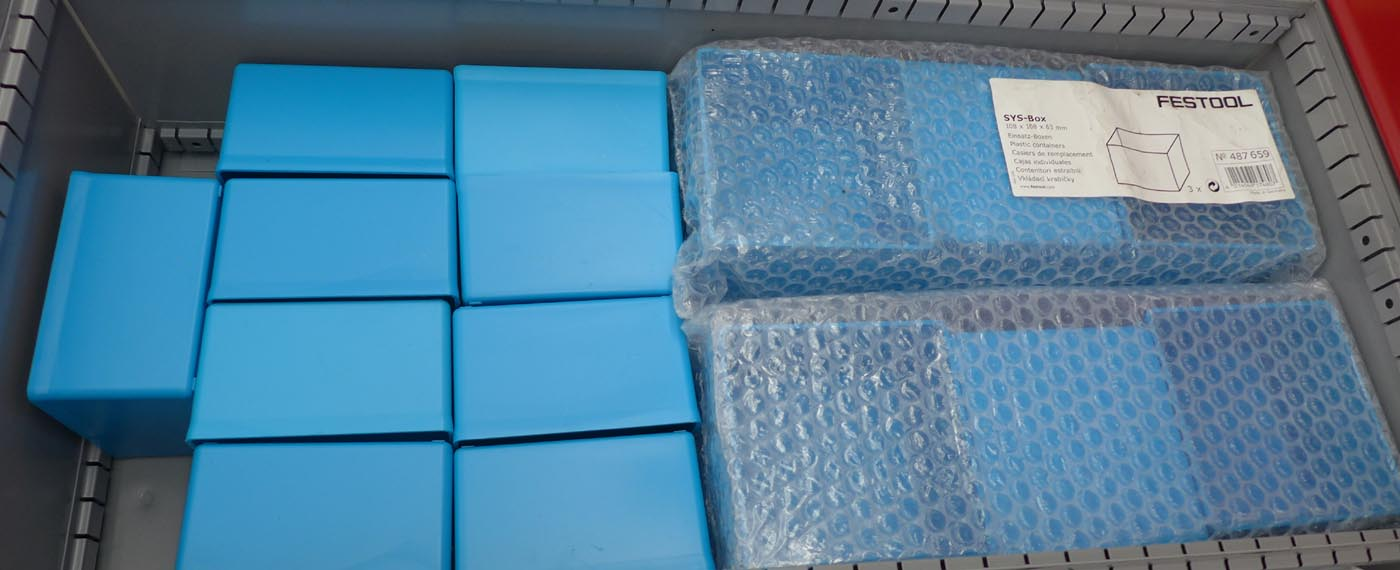 487659-lge.jpg & Plastic Storage Boxes (Blue) - for Classic Systainers (3pc) Aboutintivar.Com
