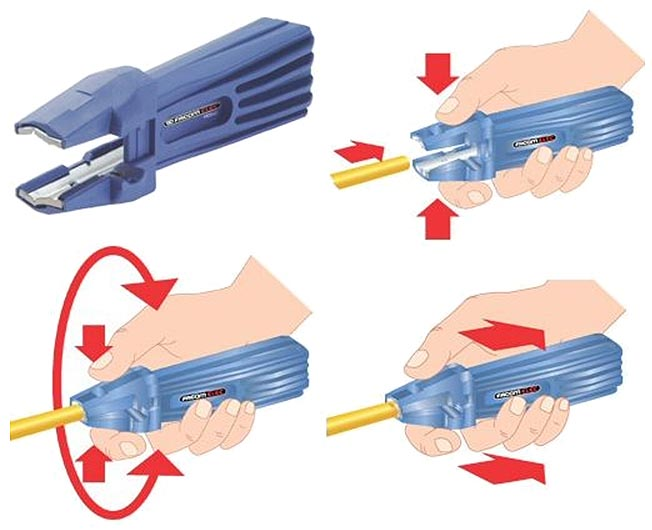 Cable Sheath Stripper (for Romex & coax cable)(985962)