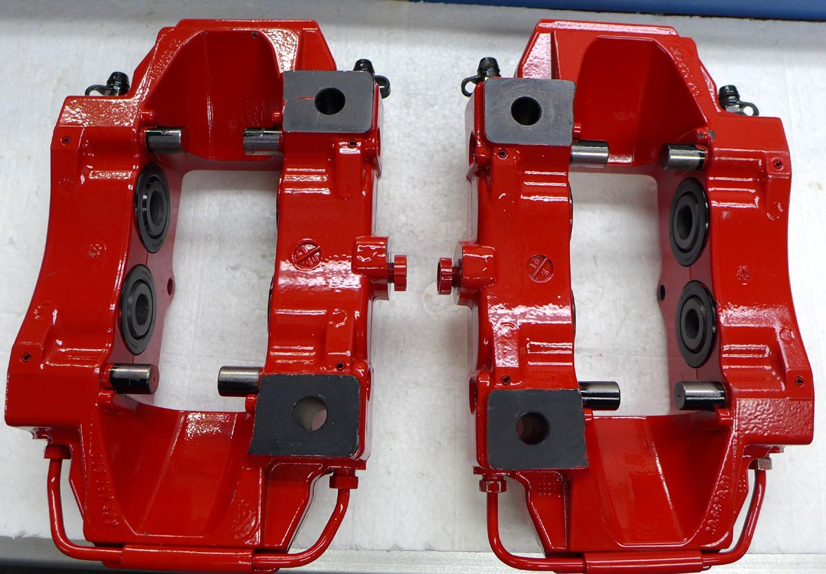 Porsche 944 Parts >> Porsche Boxster S Rear Caliper Set (New)(996351421/422)