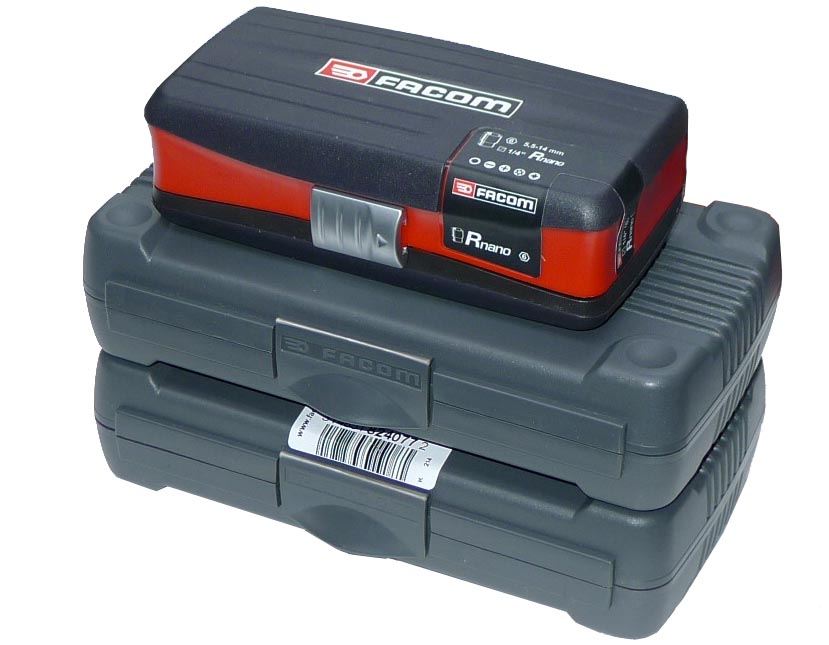 Compact tool set kit fits in a quot wide case