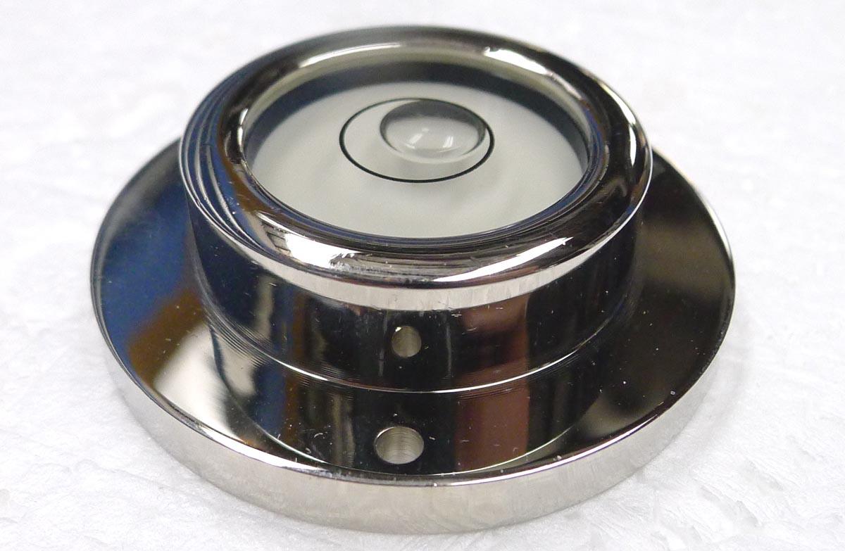 Level Round Screw Down Bubble Level 50mm Dela 3180 05