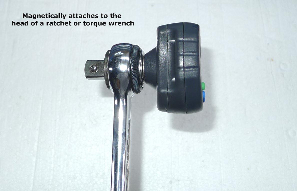 digital torque angle adapter