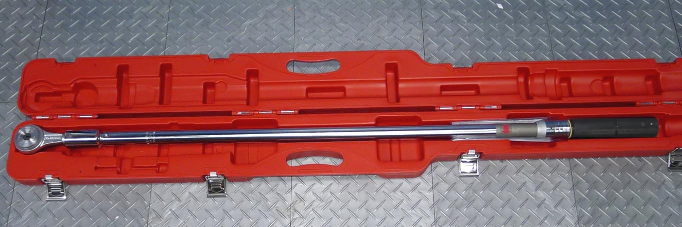 """Plastic Hose Clamps >> 3/4"""" Drive Torque Wrench (200-1000nm)(K.306A1000, repl K.322)"""