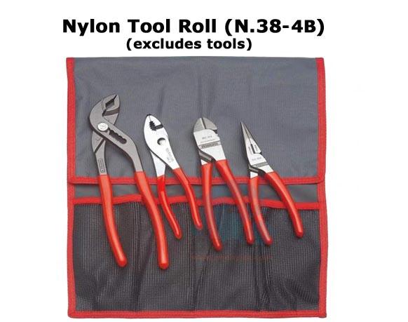 Nylon Tool Roll 4 Pockets 310x530mm N 38a 4b