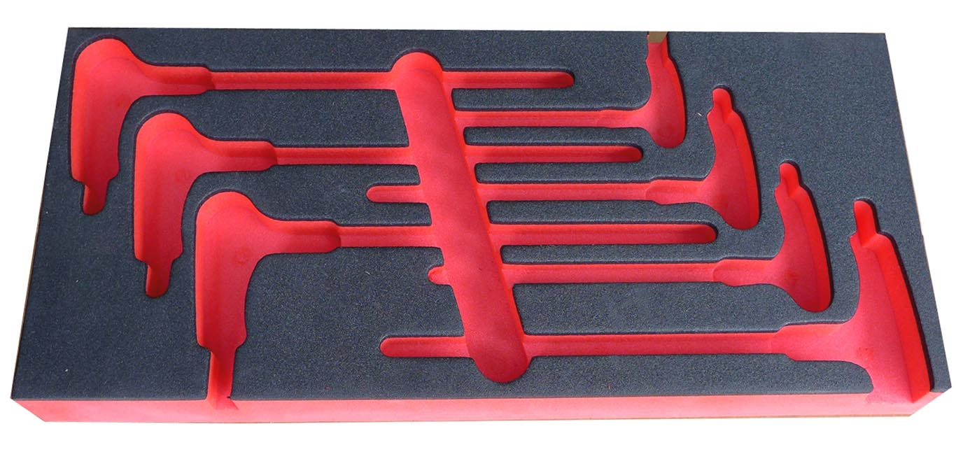 Module Storage Tray Foam For 84 Series T Handle Hex Drivers