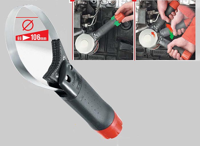 Hose Crimping Tool >> Oil Filter Wrench-Ratcheting Type (U.46ACL)